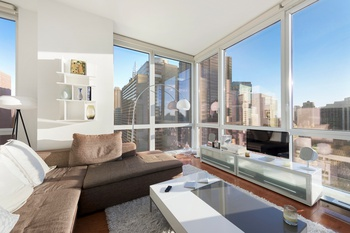 JUST LISTED!  247 West 46th Street PLATINUM CONDOMINIUM TWO BEDROOM 37TH FLOOR with ENDLESS MAJESTIC VIEWS